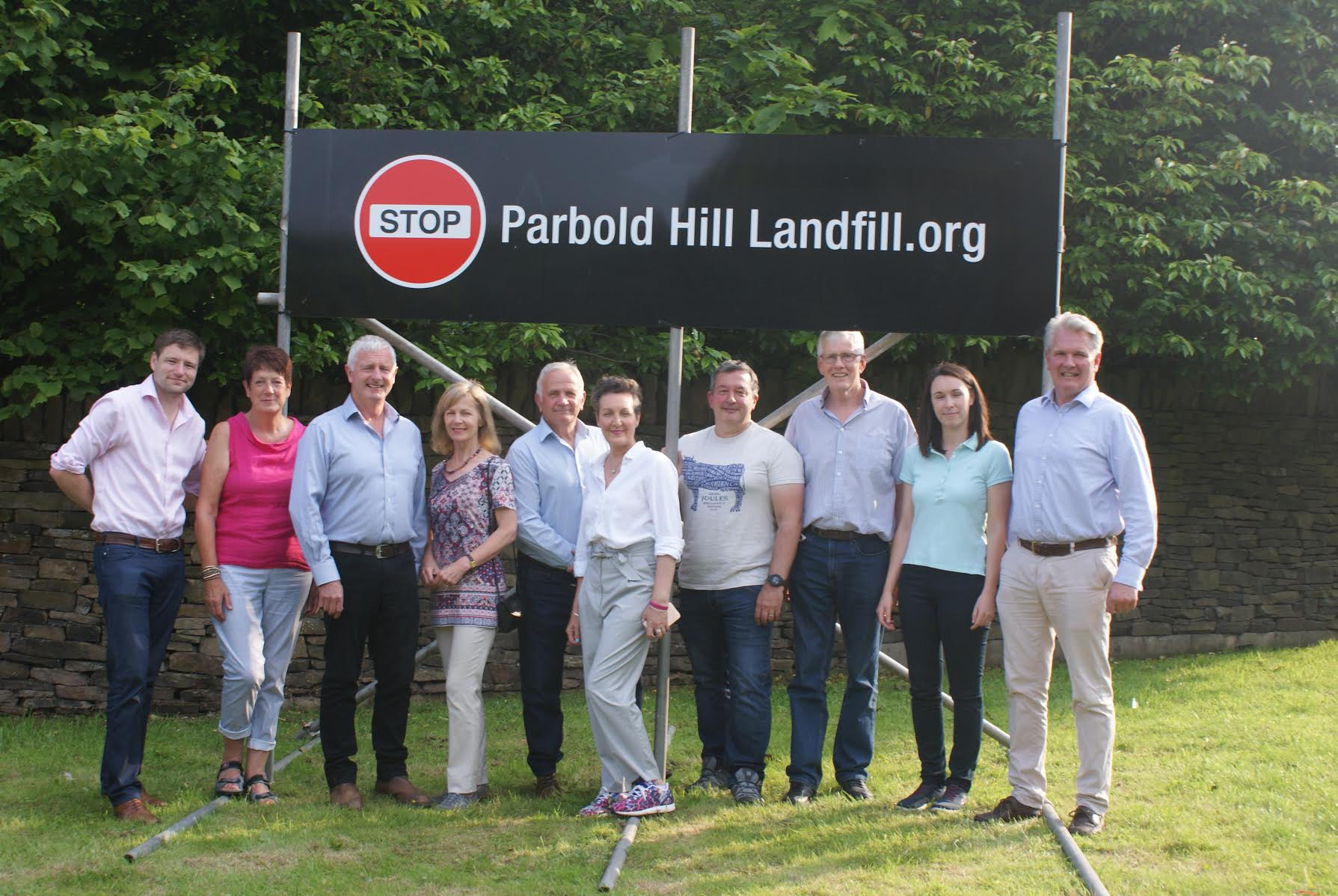 Residents blast new tipping proposals at Parbold Hill